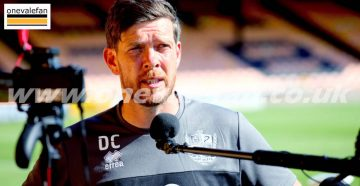 Port Vale manager Darrell Clarke talks to the media 2021