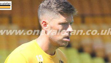 Port Vale striker Jamie Proctor