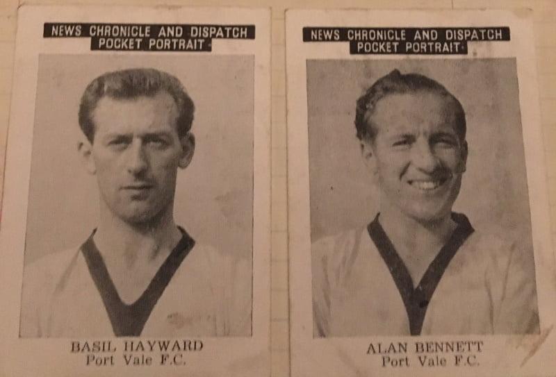 Basil Hayward and Alan Bennett