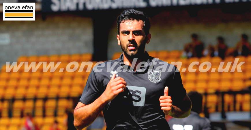 Port Vale defender Mal Benning