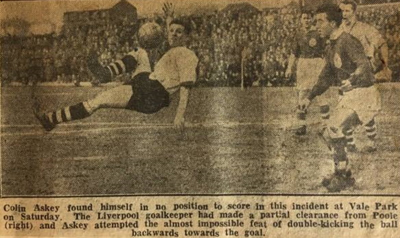 Press clipping - Colin Askey in action