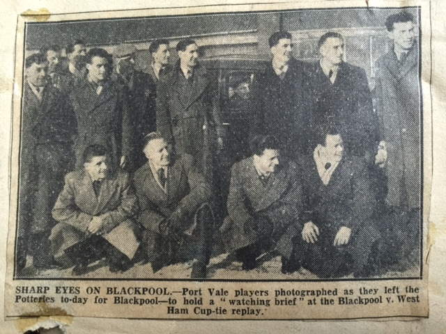Press Clipping - Eyes on Blackpool 1954