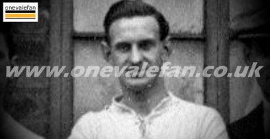 Port Vale striker Bob Blood