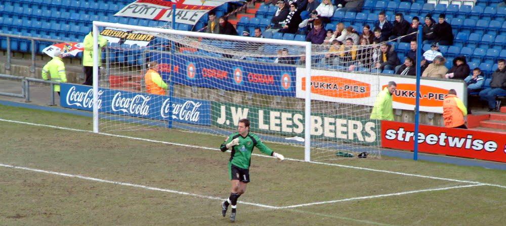 Port Vale keeper Mark Goodlad