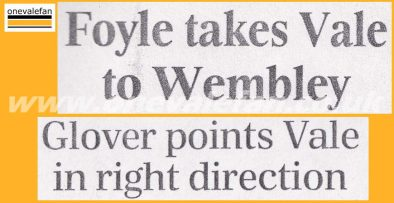 Port Vale press clippings - how the national press viewed the 1993 play-offs against Stockport County