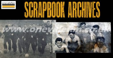 Scrapbook - press clippings from the 1953-54 season