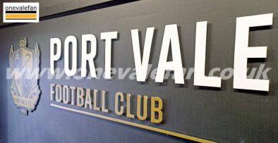 Vale Park tunnel 2021