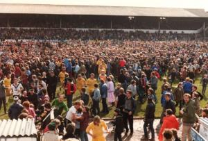 Port Vale play Northampton in their final game of the 1982-83 promotion season
