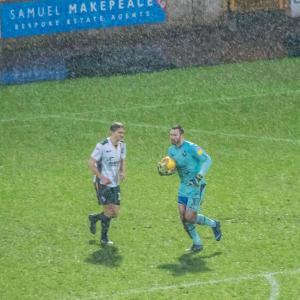 Rainy conditions as Port Vale take on Carlisle Utd