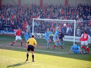 Crewe Alex 1-1 Port Vale, 2002