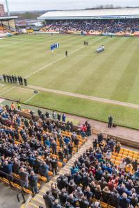 The tribute to Gordon Banks