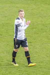 Port Vale winger Ben Whitfield