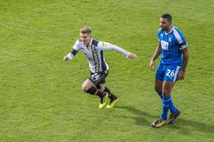 Ben Whitfield on the charge against Notts County