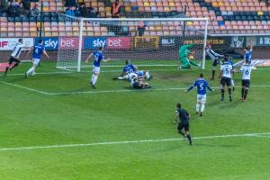 Port Vale 1-4 Oldham Athletic - Ben Whitfield finds the net