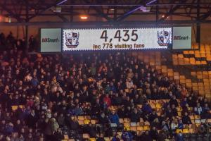 Port Vale 1-4 Oldham Athletic - the attendance