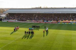 A minute's silence was observed by all