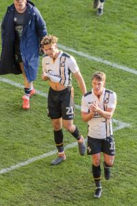 Theo Vassell and Luke Hannant