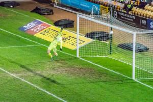 Port Vale 3-0 Yeovil: Tom Conlon's volley beats the Yeovil keeper