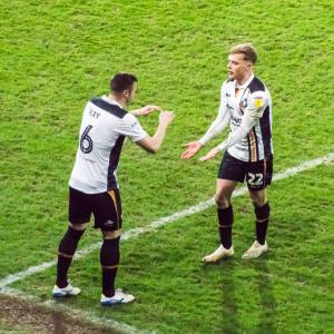 Port Vale 3-0 Yeovil: man of the match Tom Conlon is subbed