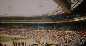The Vale crowd at Wembley stadium for the Autoglass Trophy final 1993