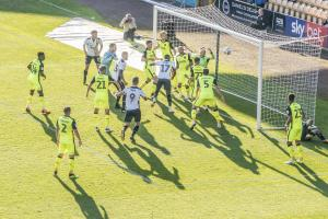 ...for sub Idris Kanu to nod the ball over the line for his first Vale goal.